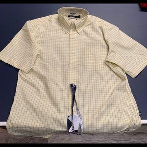 New Men's short sleeve Nautica button down shirt